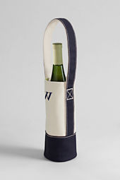 Single Canvas Wine Tote