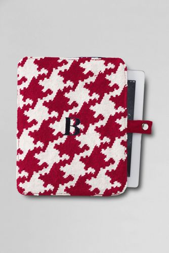 Houndstooth Needlepoint iPad Case