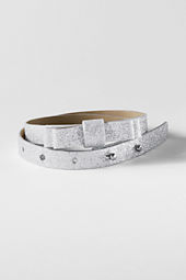 Girls' Bow Glitter Belt