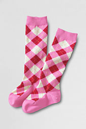 Girls' Pattern Knee High Socks