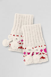 Girls' Heart Boot Cuffs