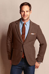 Men's Boiled Wool Blazer
