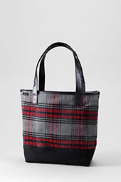 Holiday Wool Tote