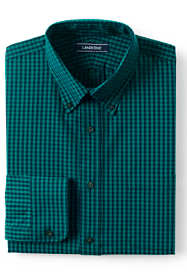 Men's Tailored Fit 40s Poplin Dress Shirt