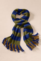 Men's Bold Stripe Scarf