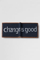 Men's Needlepoint Wallet