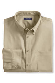 Men's Long Sleeve Basic Twill Shirt