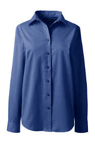 Women's Long Sleeve Basic Twill Shirt