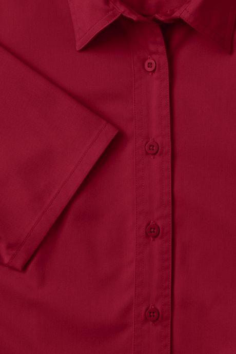 Women's Short Sleeve Basic Twill Shirt