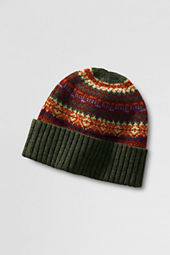 Men's Wool Fair Isle Hat