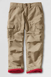 Boys' Iron Knee Lined Bedford Cargo Pants