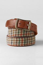 Men's Tweed Surcingle Belt
