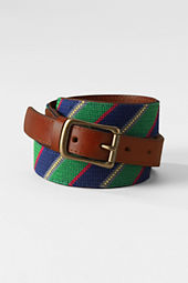 Men's Needlepoint Belt