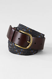 Men's Braid Cord Surcingle Belt