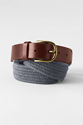 Men's Wool Braid Surcingle Belt