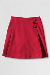 Girls' Pleated Ponte Skort