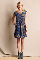 Women's Silk Keyhole Dress