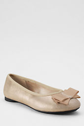 Girls' Bow Ballet Shoes