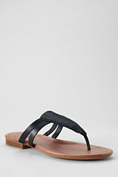 Women's Shea Flat Leather Sandals