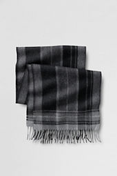 Men's Plaid Alpaca Scarf