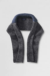 Men's Alpaca Collar Scarf