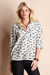 Women's Birds & Bees Popover Shirt