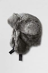 Girls' Faux Fur Trapper Hat