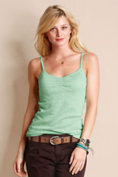 Women's Metallic Pointelle Cami