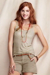 Women's Strappy Scoopneck Cami