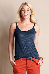Women's Strappy Scoopneck Starry Cami