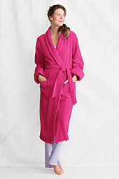 Women's Cotton Terry Midcalf Robe