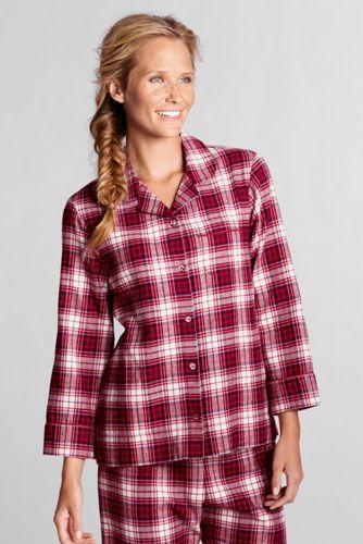 Le Haut de Pyjama Imprimé en Flanelle