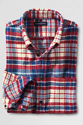 Men's Long Sleeve Herringbone Flannel Buttondown Shirt