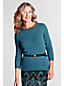 Women's Regular Lambswool Blend Embellished Jumper