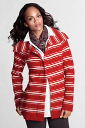 Women's Felted Wool Knit Jacket