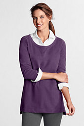 Women's Wide Crewneck Jersey Tunic