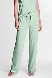 Women's Solid Rayon Sleep Pants