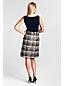 Women's Regular Foil Tweed Duet Dress
