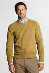 Men's Meridian Cable Crewneck Sweater