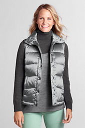 Women's Holiday Metallic Down Vest
