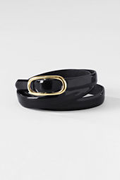 Women's Refined Patent Belt