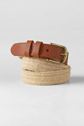 Women's Stretch Jute Belt