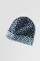 Women's Double Knit Nordic Hat
