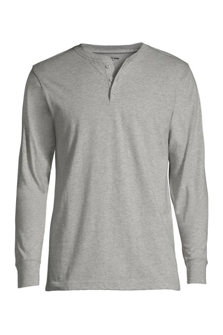 Men's Tall Long Sleeve Super-T Henley