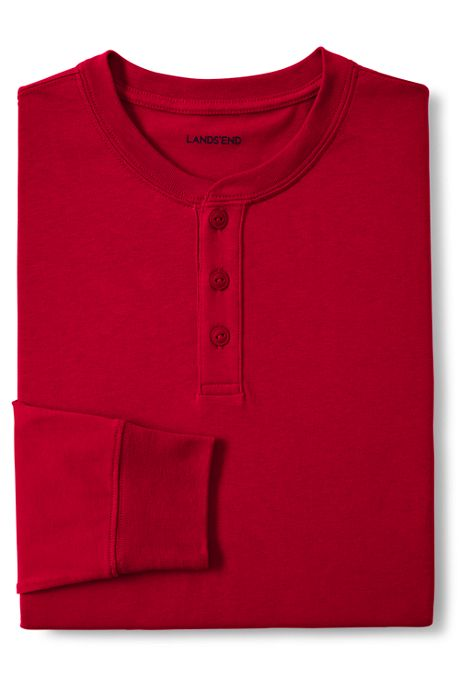 Men's Super-T Long Sleeve Henley Shirt