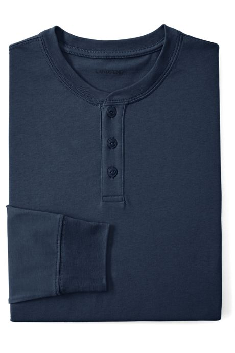 Men's Long Sleeve Super-T Henley