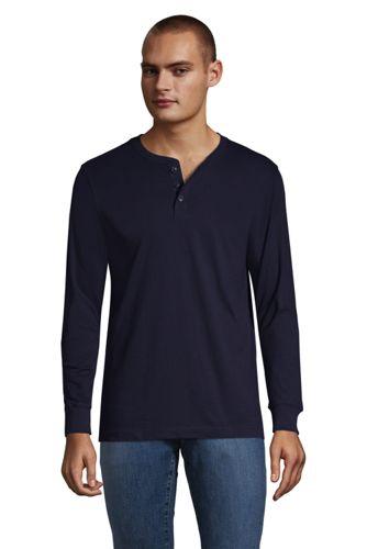 Le T-Shirt Henley Manches Longues