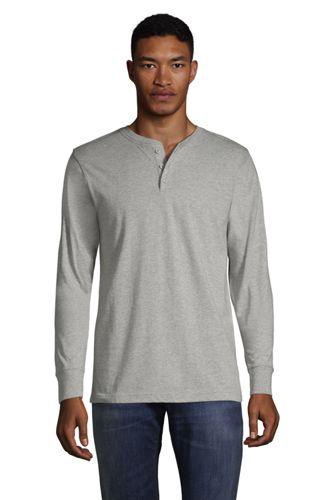 Men's Super-T Henley Long Sleeve T-shirt