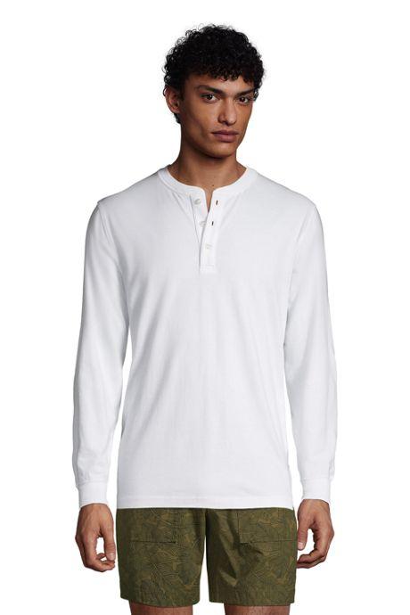 Men's Super-T Long Sleeve Henley Shirt