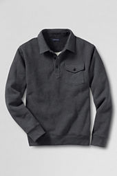 Men's Serious Sweats Polo Pullover